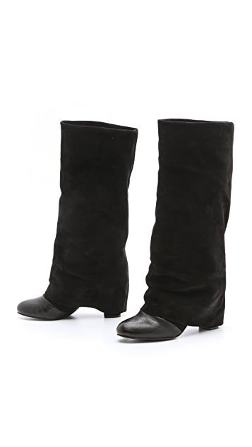 See by Chloe Cuffed Tall Boots