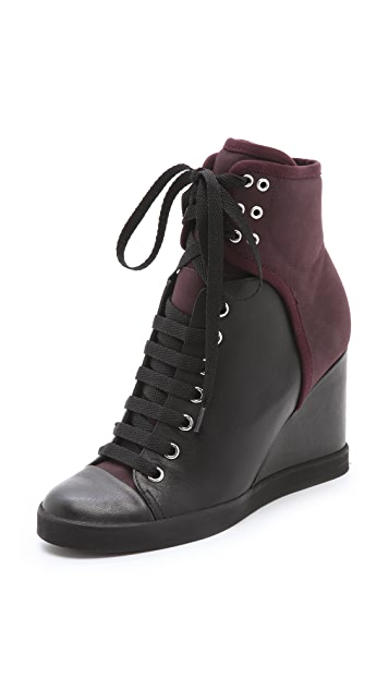 See by Chloe Wedge Sneakers