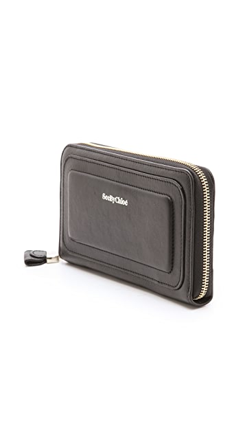 See by Chloe Long Zipped Wallet