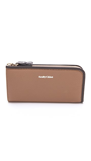 See by Chloe April Long Zip Wallet
