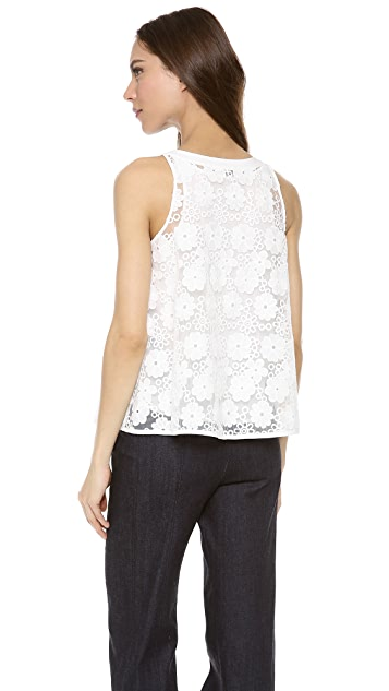 See by Chloe Floral Tank