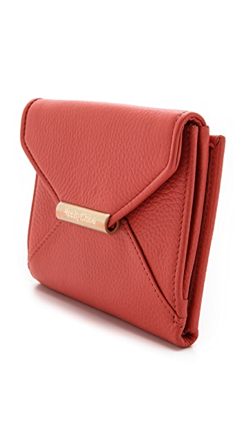 See by Chloe Cherry Flap & Snap Wallet