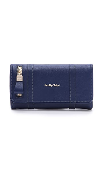 See by Chloe Harriet Long Wallet
