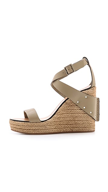 See by Chloe Espadrille Wedges