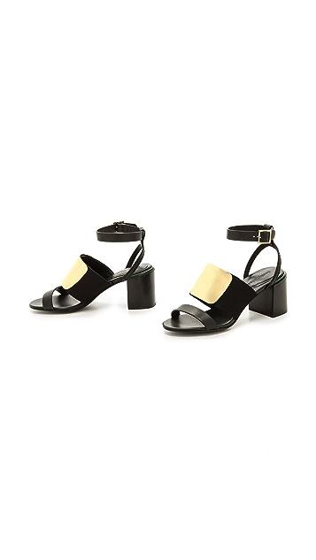 See by Chloe Banded Block Heel Sandals