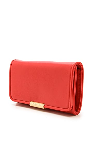See by Chloe Cherry Long Wallet with Flap