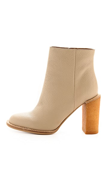See by Chloe Crepe Heel Booties