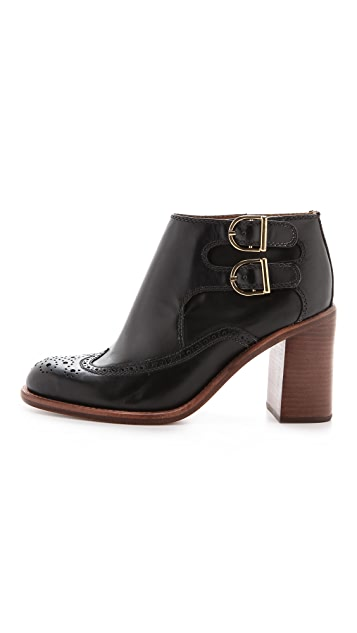 See by Chloe Monk Strap Booties