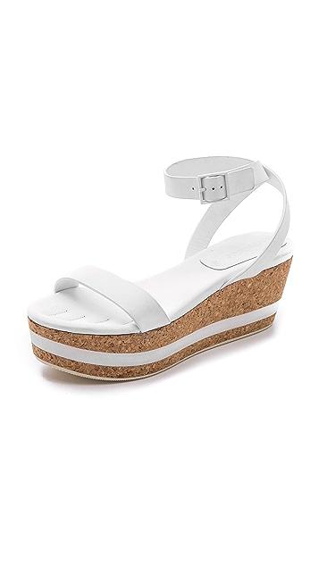 See by Chloe Cork Flatform Sandals