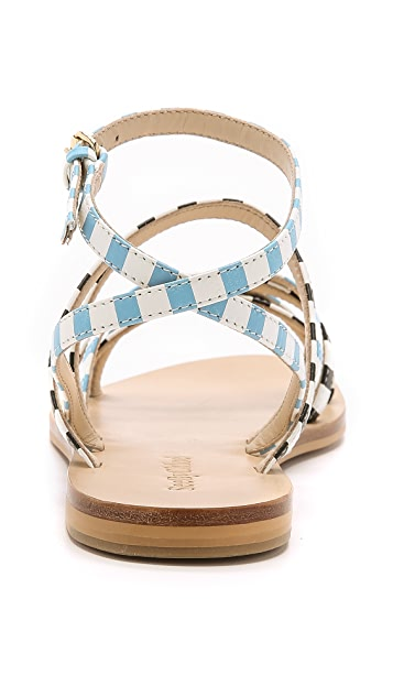 See by Chloe Garange Strappy Flat Sandals