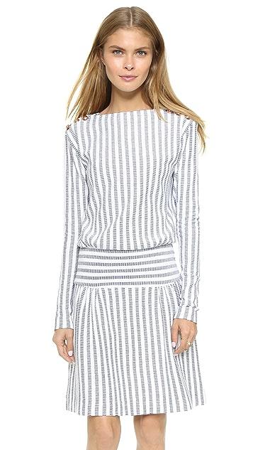 9603c18325 Long Sleeve Striped Dress