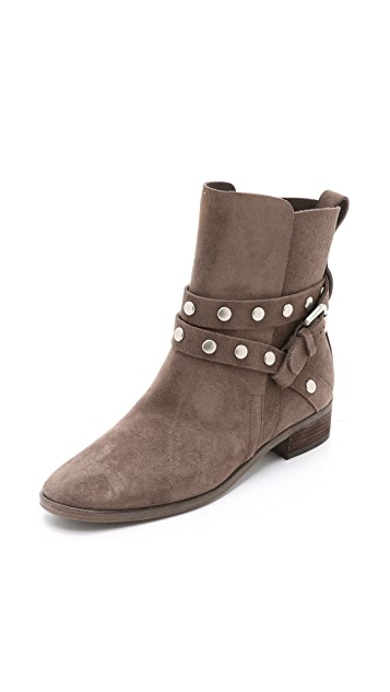 77d3eb5b9eebb See by Chloe Studded Suede Boots ...