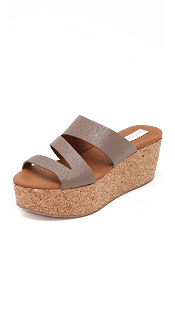 See by Chloe Dania Platform Wedge Sandals