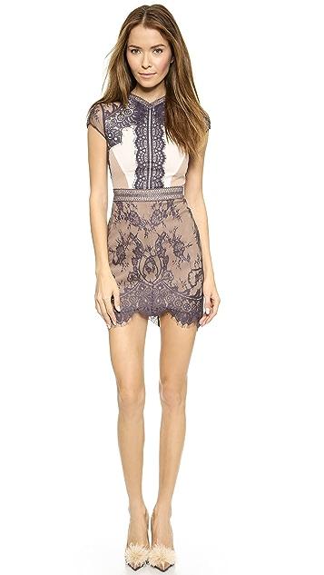 Self Portrait Lace Sequence Dress