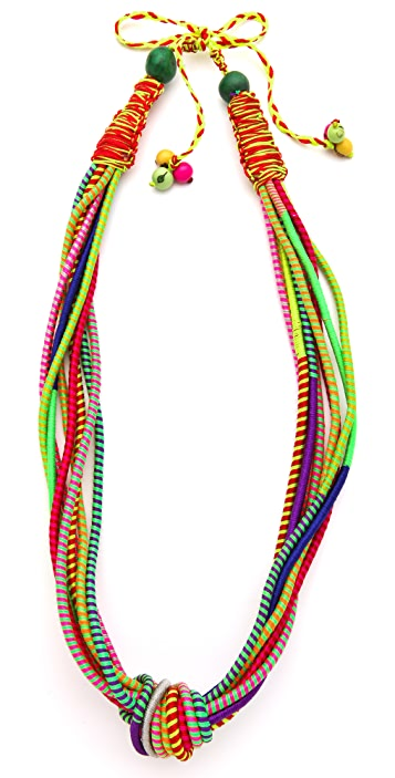 Sequence Knot Extension Long Necklace