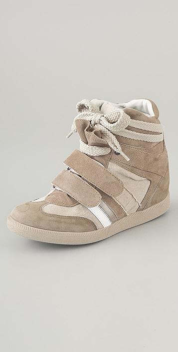 Serafini Tuileries Suede Sneakers