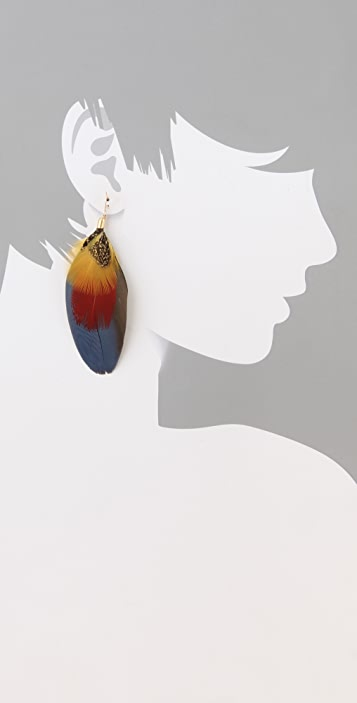 serefina Mod Parrot Earrings