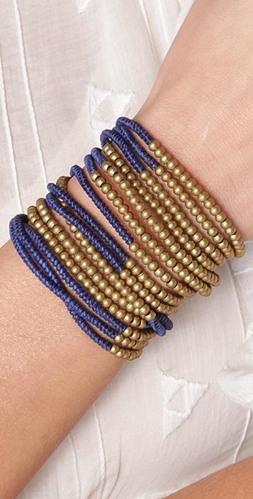 serefina Triple Wrap C Bracelet
