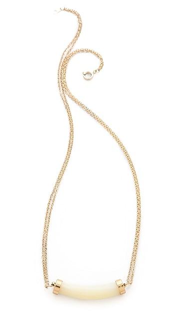serefina Delicate Double Chain Necklace