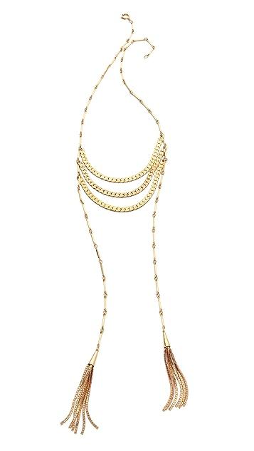 serefina Cascade Ritual Crest Necklace