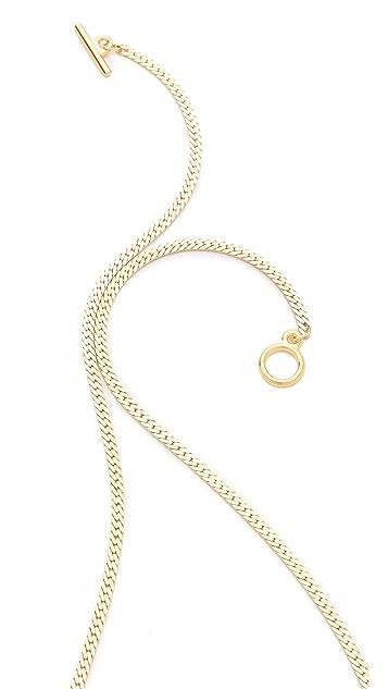 serefina Stingray Crest Necklace