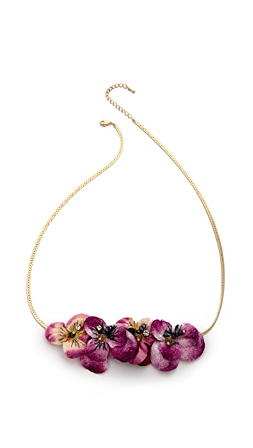 serefina Floral Necklace