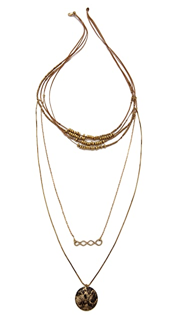 serefina Multi Layer Necklace
