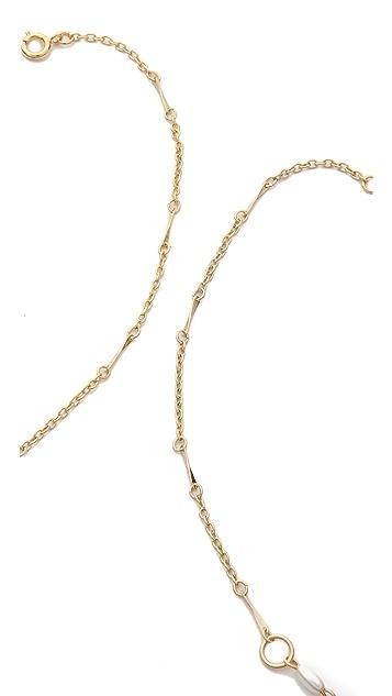 serefina Imitation Pearl Enhanced Necklace