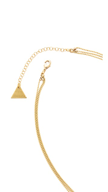 serefina Layered Stone Necklace