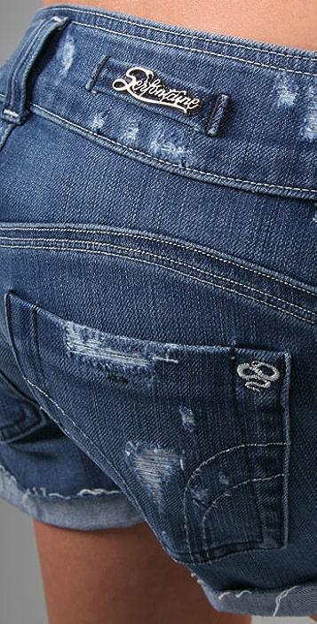 Serfontaine The Vandal Denim Shorts