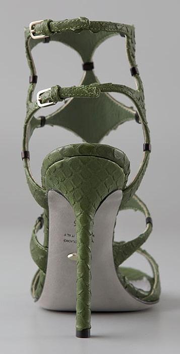 Sergio Rossi Girandola Bis Gladiator Sandals