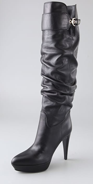 Sergio Rossi Veronica Platform Slouch Boots