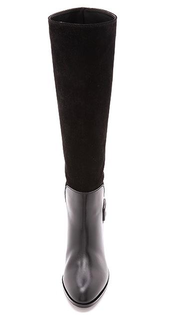 Sergio Rossi Saddle Boots