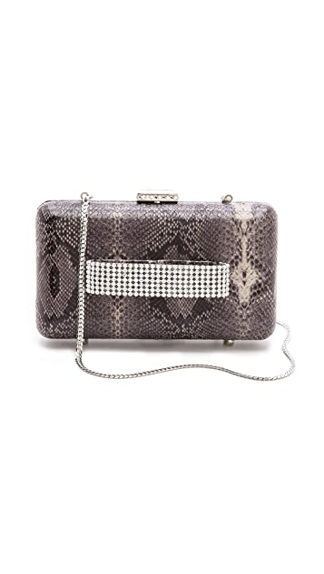 Serpui Marie Snake Jeweled Clutch