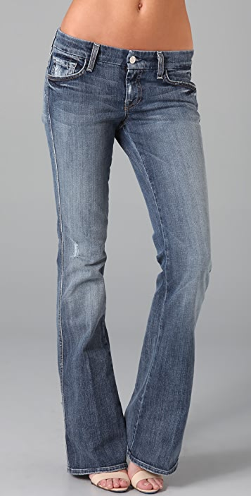 7 For All Mankind A Pocket Flare Jeans
