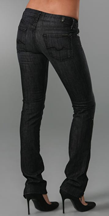 7 For All Mankind Convertible Skinny Jeans