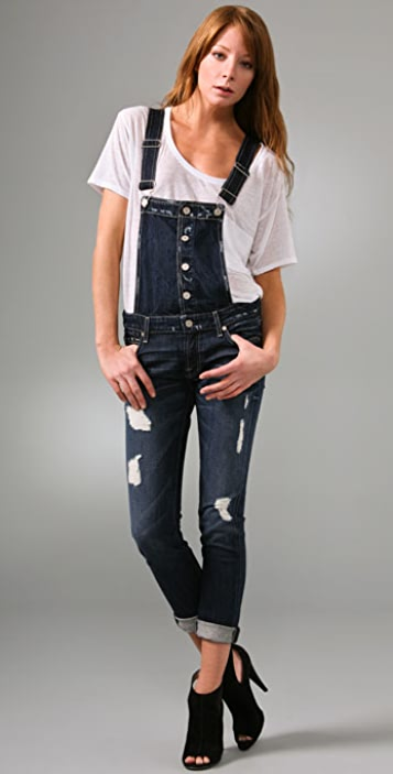 7 For All Mankind Josefina Overalls
