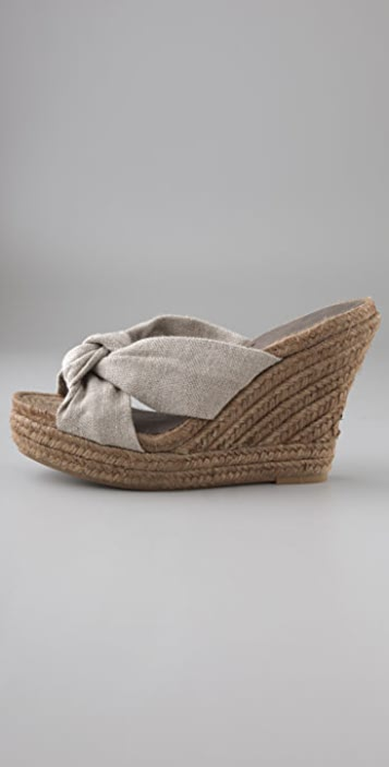 7 For All Mankind Jane Espadrille Wedges