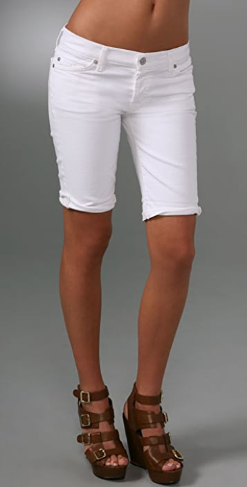 7 For All Mankind Josefina Jean Shorts