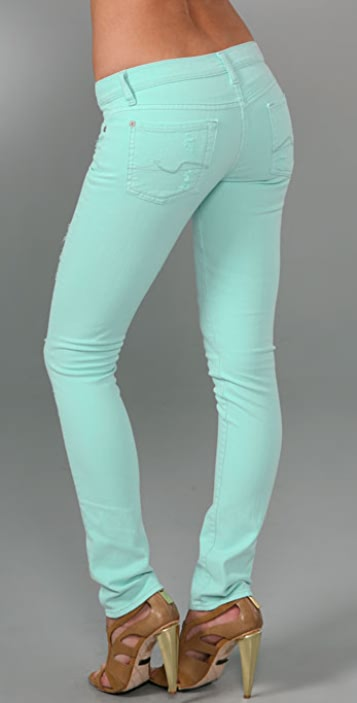 7 For All Mankind Roxanne Skinny Slimmer Jeans