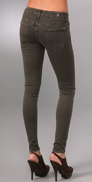 7 For All Mankind Gummy Gwenevere Skinny Jeans