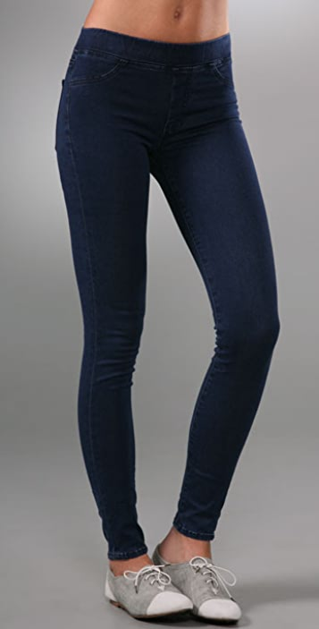 7 For All Mankind Gummy Pull On Legging Jeans