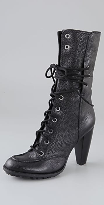7 For All Mankind Everly Lace Up Boots