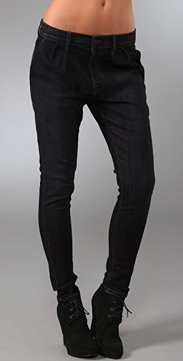 7 For All Mankind Standard Trouser Jeans with Pleats