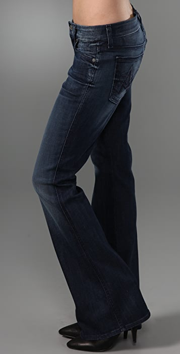 7 For All Mankind Lexie A Pocket Boot Cut Jeans