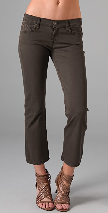 7 For All Mankind Lightweight Twill Ankle Pants