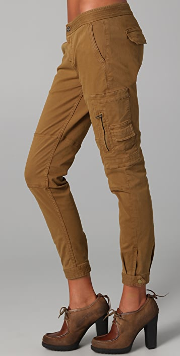 7 For All Mankind Brushed Twill Maggee Pants