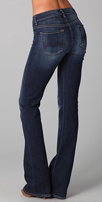7 For All Mankind High Waist Boot Cut Jeans