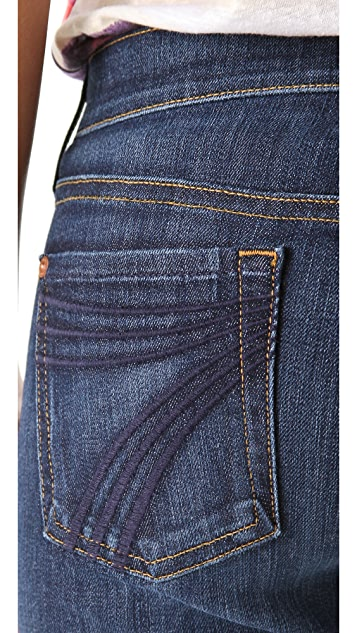 7 For All Mankind Dojo Petite Flare Jeans