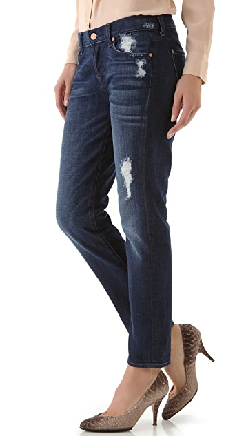 7 For All Mankind Josefina Cuffed Jeans